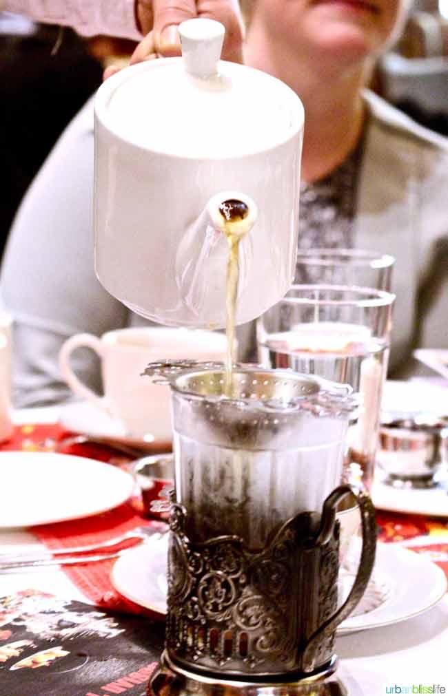 Russian Tea Service at the Heathman Hotel in Portland, Oregon on UrbanBlissLife.com