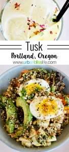 Tusk Middle Eastern Restaurant in Portland, Oregon. Restaurant review on UrbanBlissLife.com