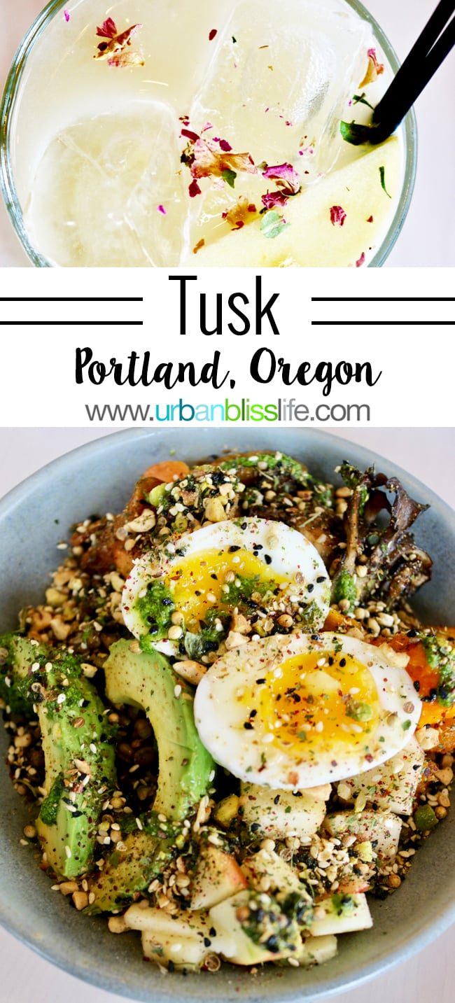 Tusk Middle Eastern Restaurant in Portland, Oregon. Restaurant review on UrbanBlissLife.com