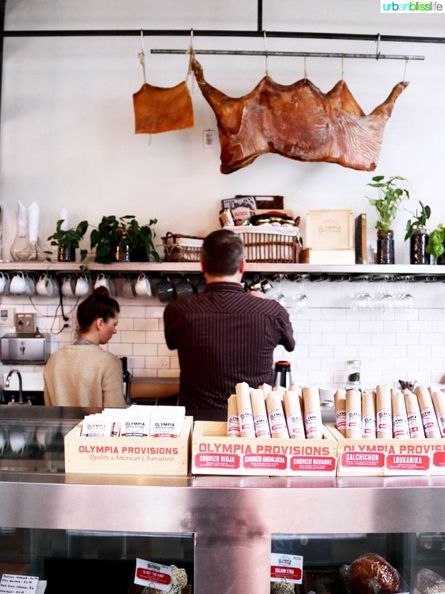 Olympia Provisions Landrauchschinken (Sweet Country Ham) Portland, Oregon UrbanBlissLife.com