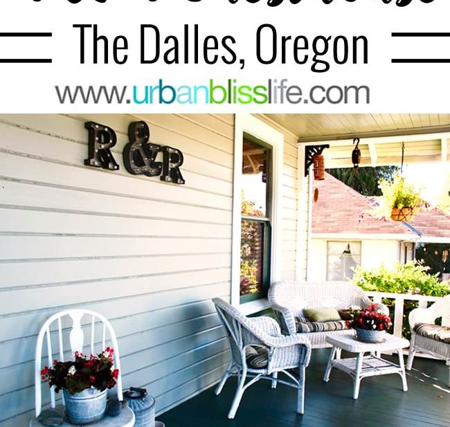 R & R Guesthouse in The Dalles, Oregon. Bed and breakfast review on UrbanBlissLife.com