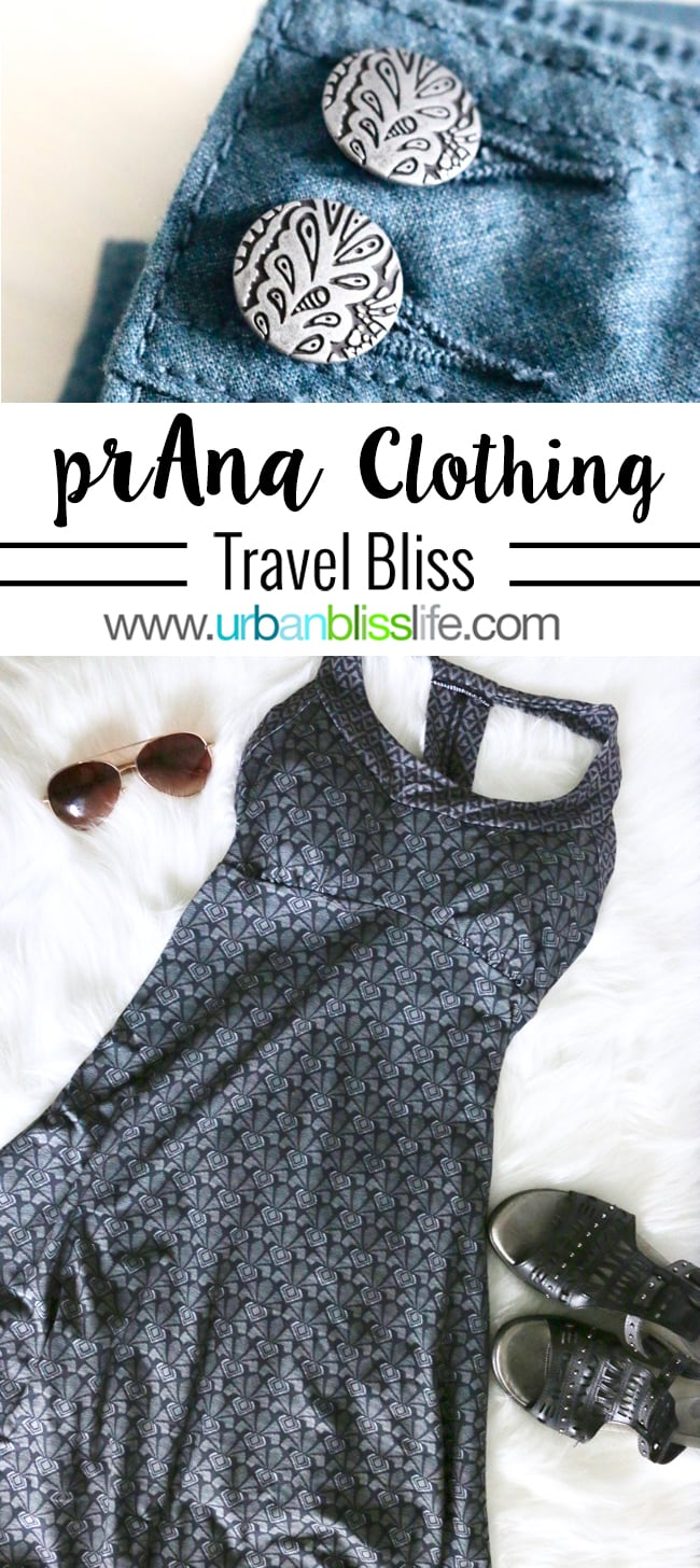 prAna travel clothing review on UrbanBlissLife.com