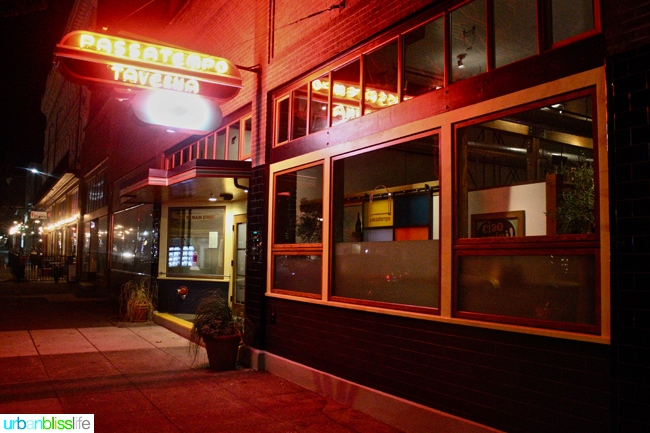 Where to Eat in Walla Walla: Passotempo, restaurant review on UrbanBlissLife.com