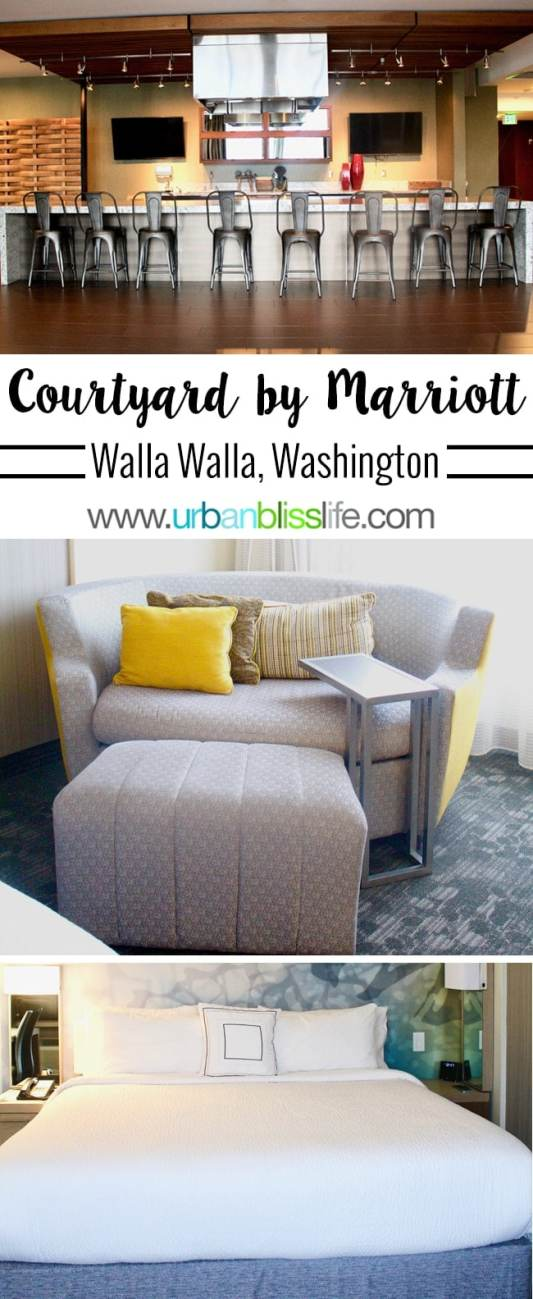 Travel Bliss: Courtyard by Marriott in Walla Walla, Washington
