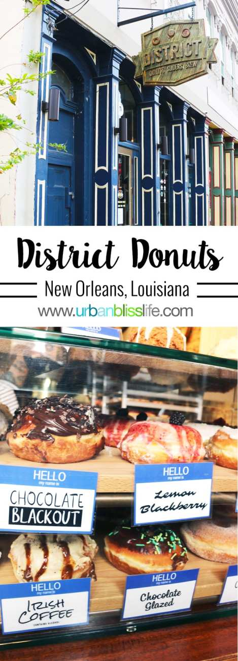 Food & Travel Bliss: District Donuts in New Orleans, Louisiana