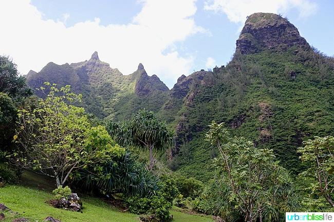 Kauai Limahuli Garden and Preseve travel tips on UrbanBlissLife.com