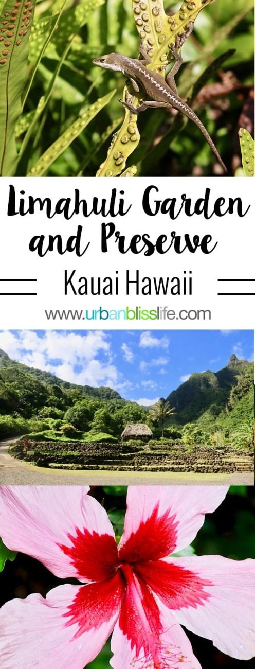 Travel Bliss: Limahuli Garden and Preserve on Kauai Island, Hawaii