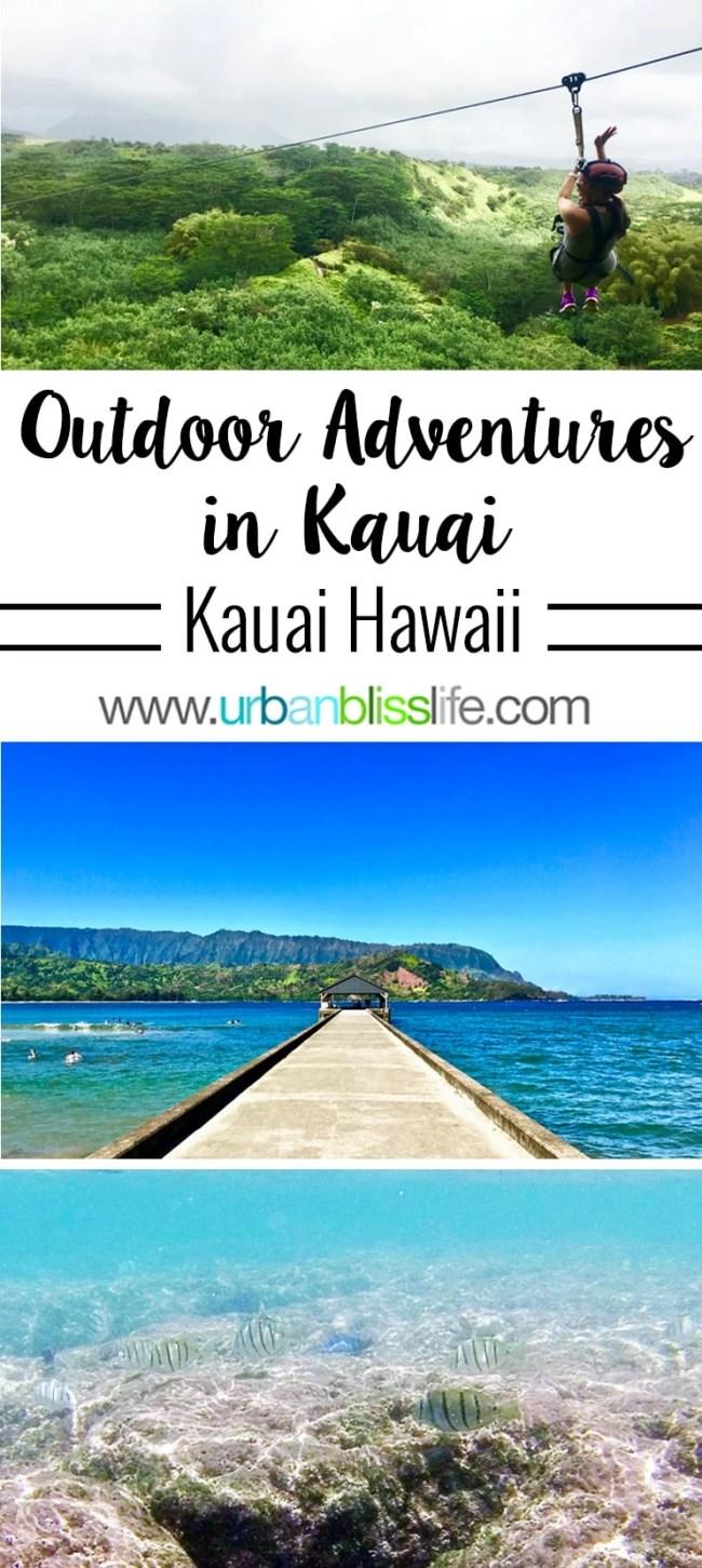 Kauai Outdoor Adventures on UrbanBlissLife.com - kayaking and snorkeling