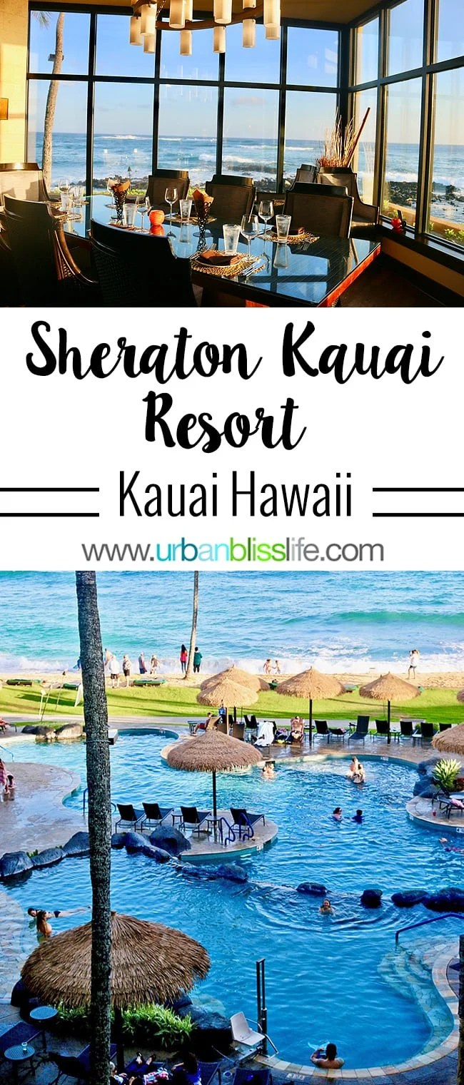 Sheraton Kauai Resort Oceanfront Hawaii Hotel Urban Bliss Life - Sheraton hawaii