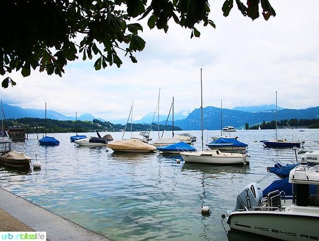Family Travel to Lucerne, Switzerland, on UrbanBlissLife.com