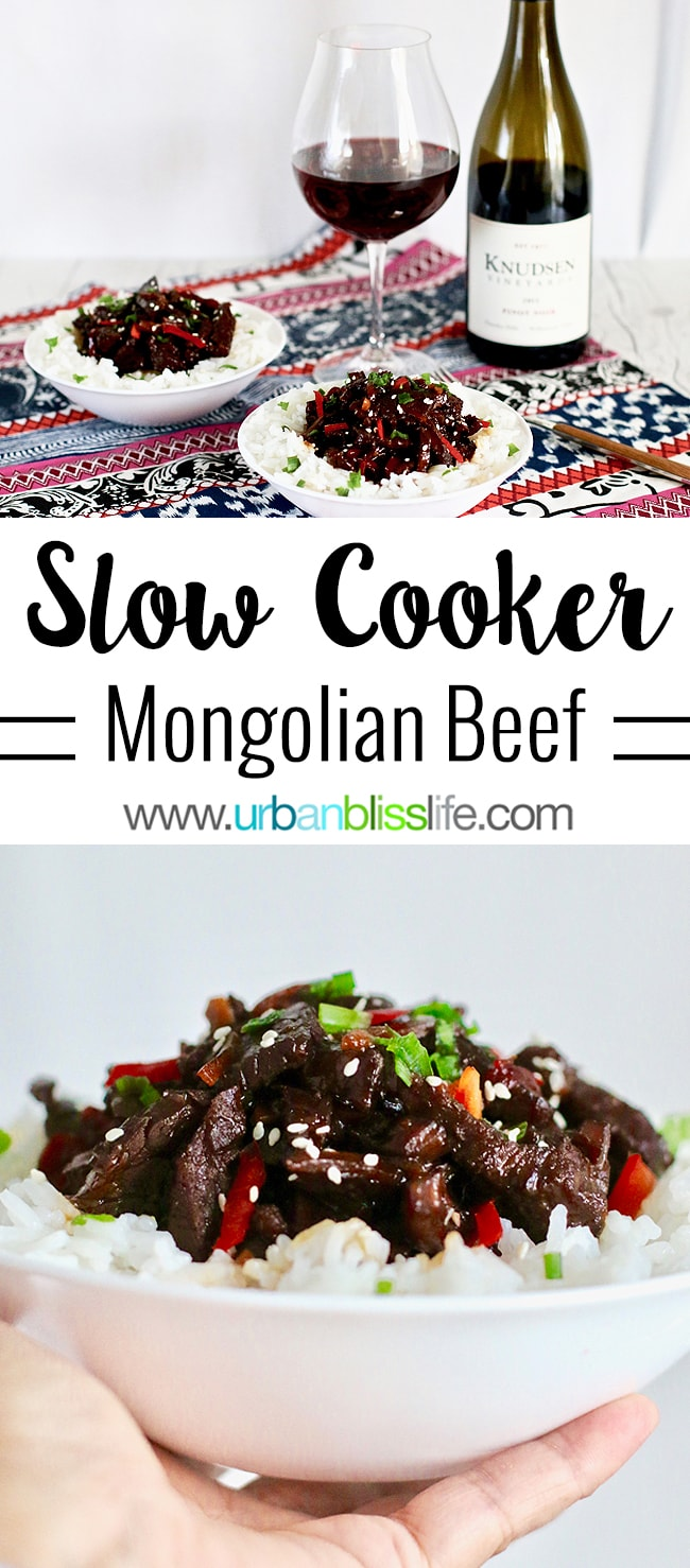 Slow Cooker Mongolian Beef - easy, hearty Chinese food recipe