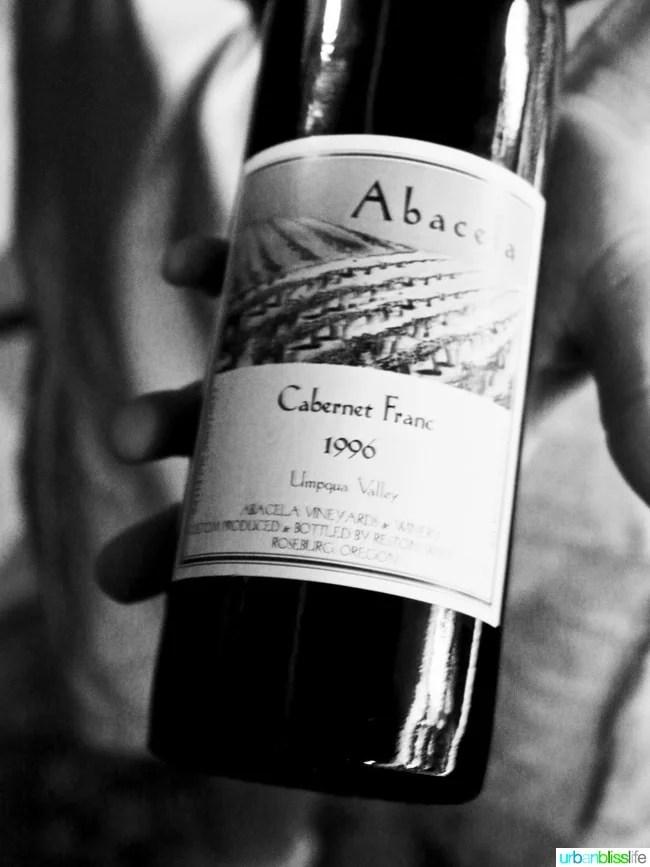 Wine tasting at Abacela Winery in Roseburg, Oregon wine country, on UrbanBlissLife.com