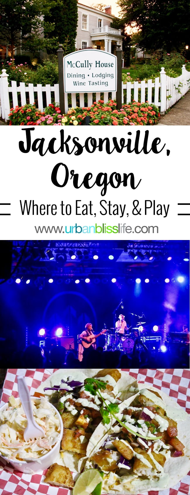 Where to Eat, Stay, Play in Jacksonville, Oregon. Travel tips on UrbanBlissLife.com