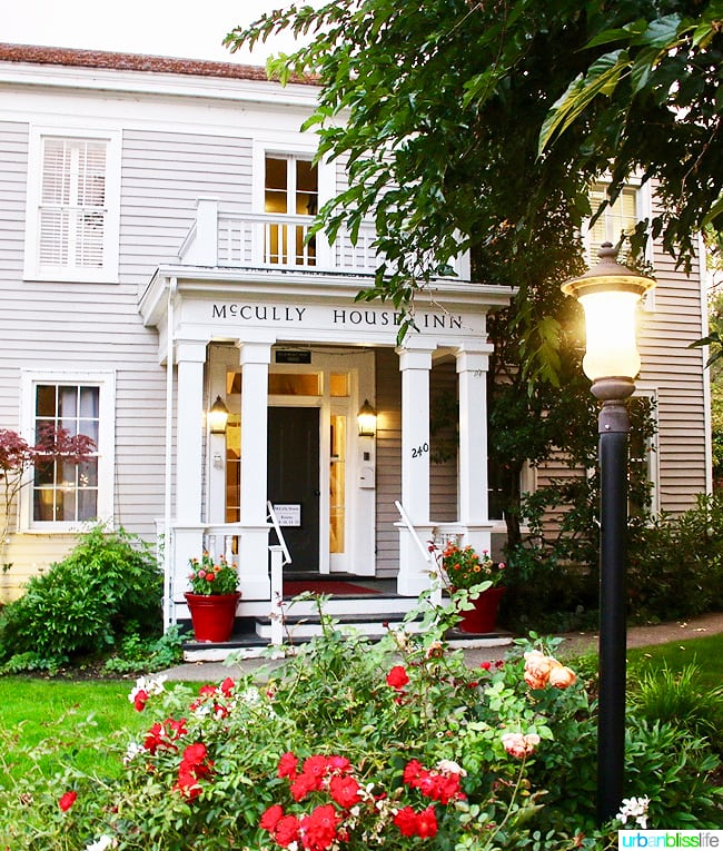 Where to Eat, Stay, Play in Jacksonville, Oregon: McCully House. Travel tips on UrbanBlissLife.com