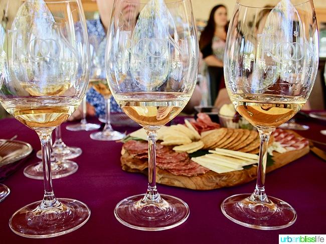 Applegate Valley wine tasting: Troon Vineyards white wines, on UrbanBlissLife.com