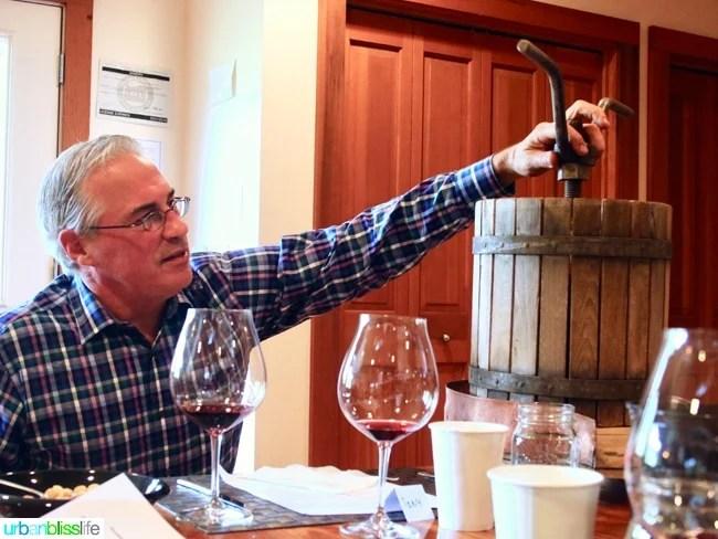 Tendril Wines winemaker Tony Rynders - Oregon wine story on UrbanBlissLife.com