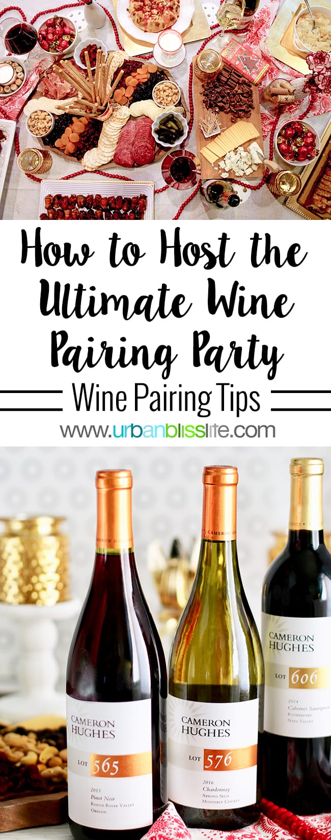 How to Host the Ultimate Holiday Wine Pairing Party