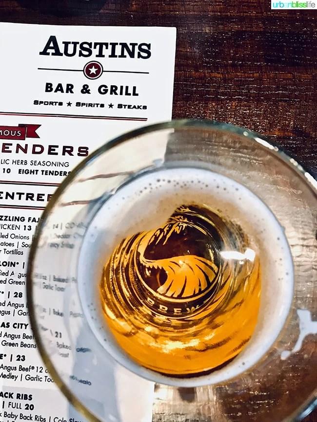 Kansas City beer at Austin's in Kansas, on UrbanBlissLife.com