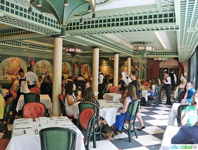 Brennan's Restaurant, travel stories on UrbanBlissLife.com