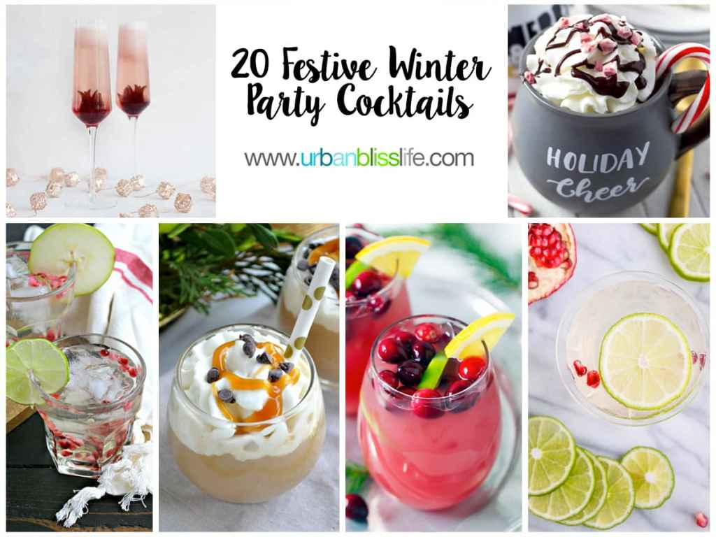 20 Winter Holiday Party Cocktails