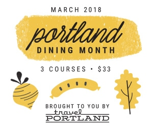 Portland Dining Month 2018