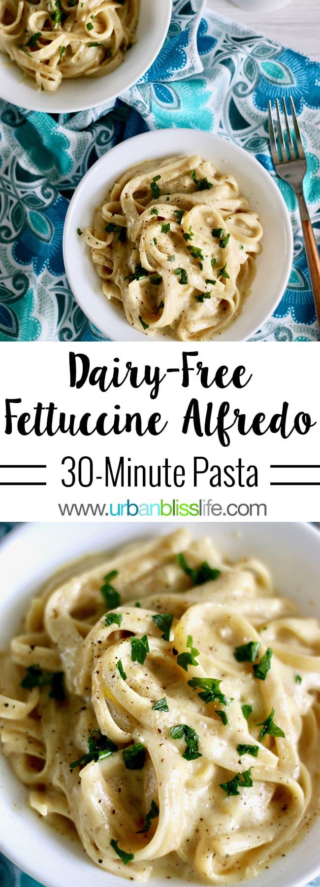 Dairy-Free Fettuccine Alfredo