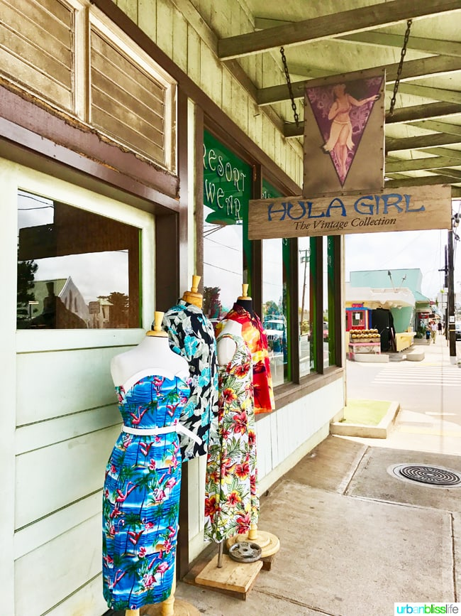 cute shops in Kapaa Hawaii