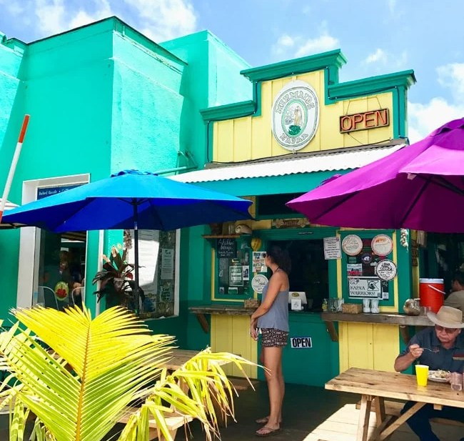 food carts in Kapaa Hawaii