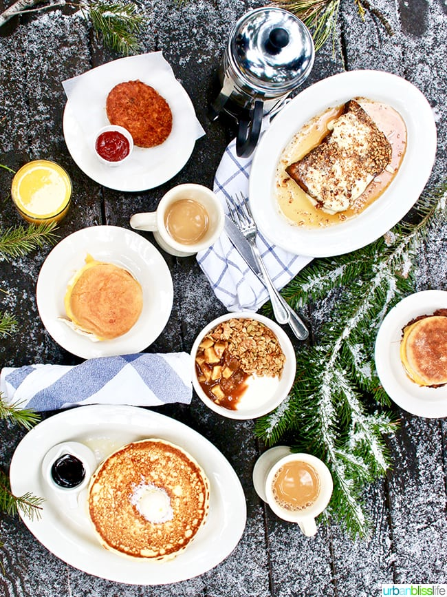 breakfast at The Suttle Lodge