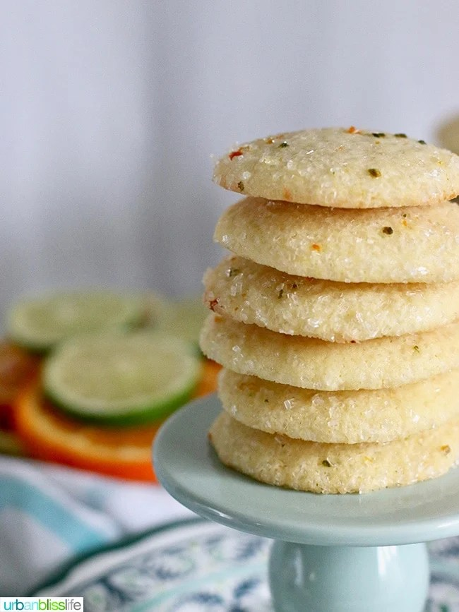 Soft Citrus Sugar Cookies