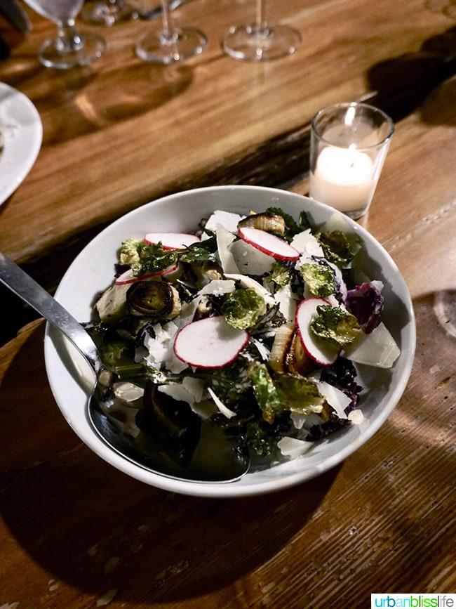 Il Solito restaurant insalata di campo