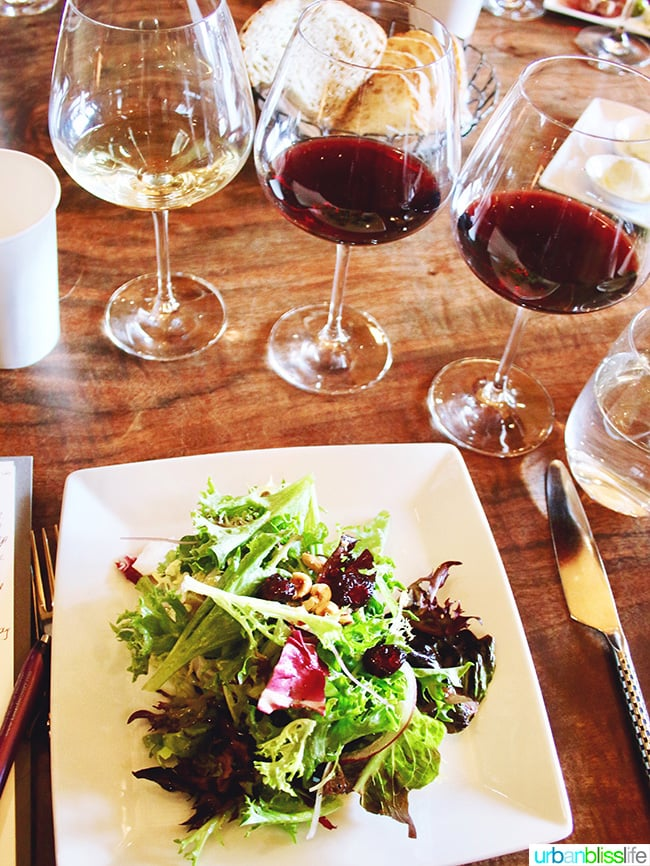 Open Claim Vineyards tasting