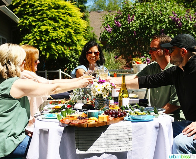 perfect summer soiree