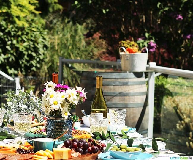 sunny summer soiree backyard party