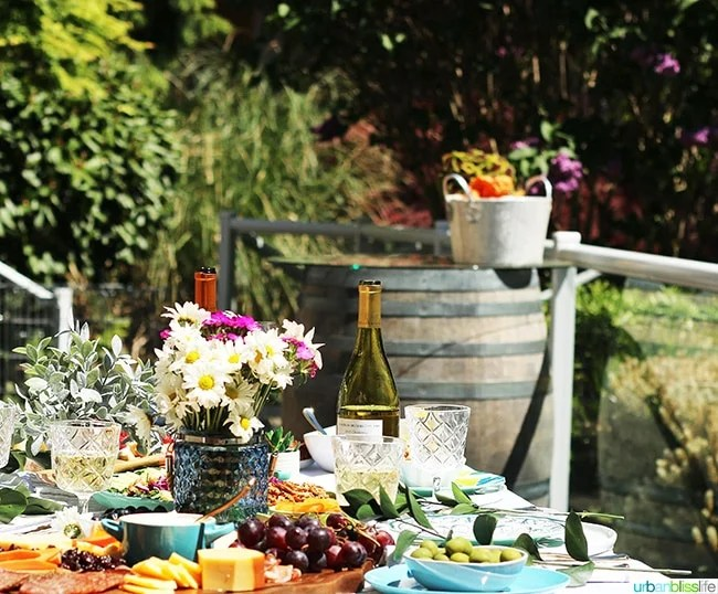 sunny summer soiree backyard party