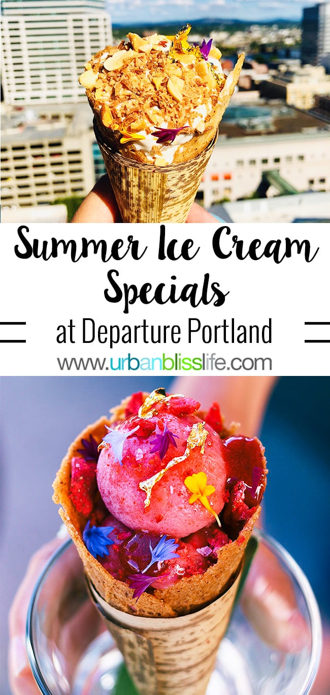 Departure Summer Ice Cream specials on UrbanBlissLife.com