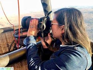 Marlynn Schotland camera travel photography hot air balloon