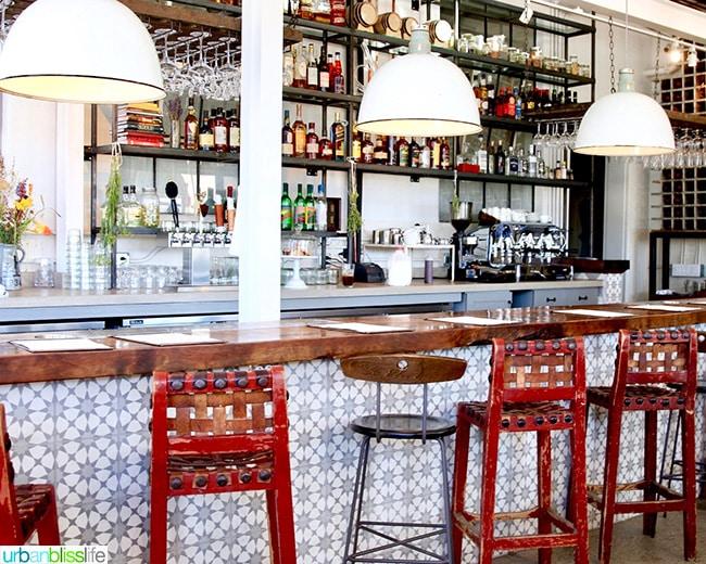 Bar at Los Poblanos - Albuquerque, New Mexico