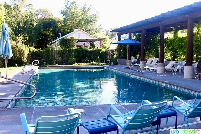 pool Los Poblanos Inn Albuquerque New Mexico