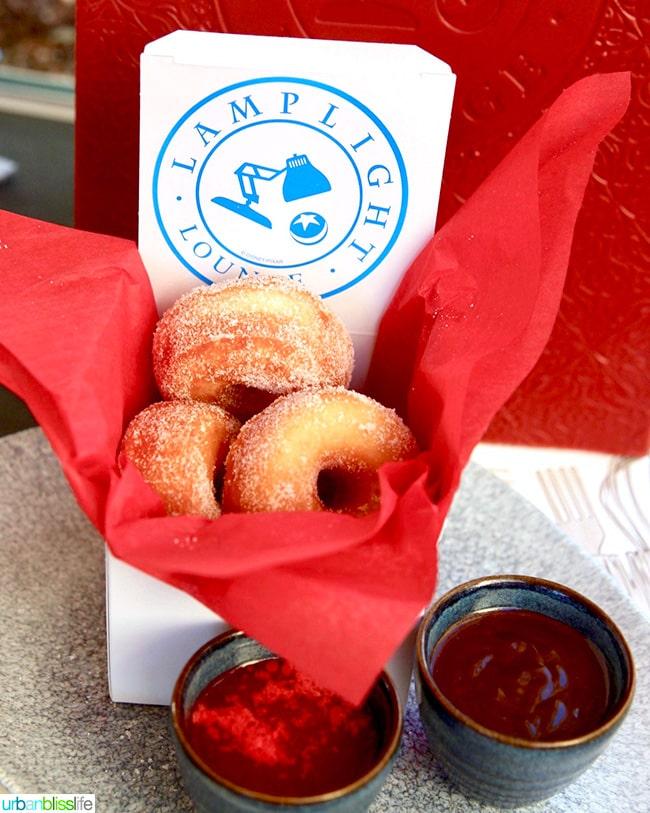 Pixar Pier Lamplight Lounge donuts
