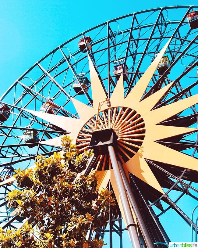 Disneyland Pixar Pier Mickey Wheel