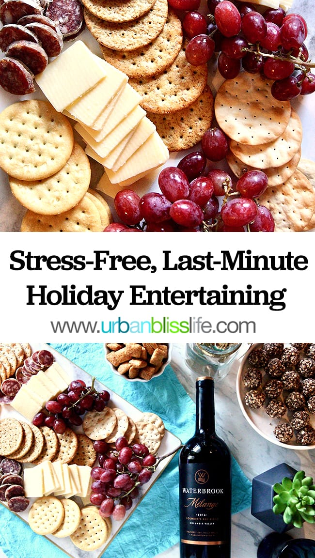 Tips for stress-free last-minute holiday entertaining
