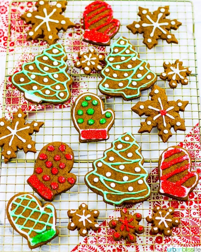 Best Chewy Gingerbread Cookies