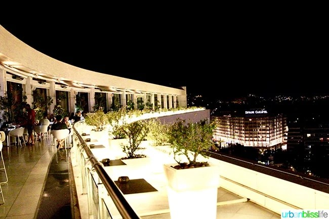 Hilton Athens Galaxy Bar