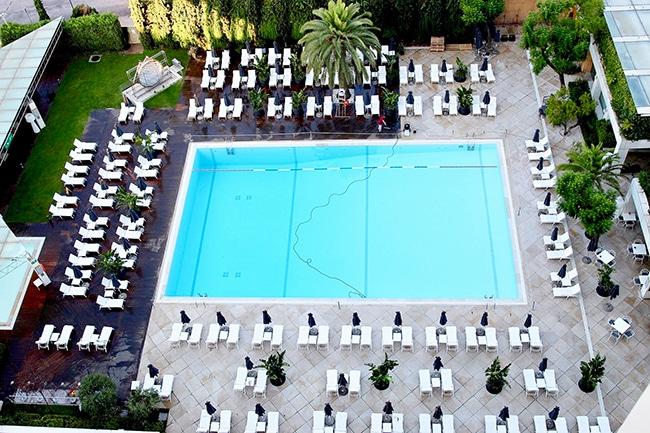 Hilton Athens hotel pool