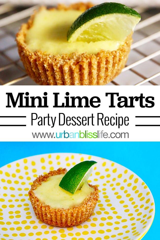Mini Lime Tarts recipe