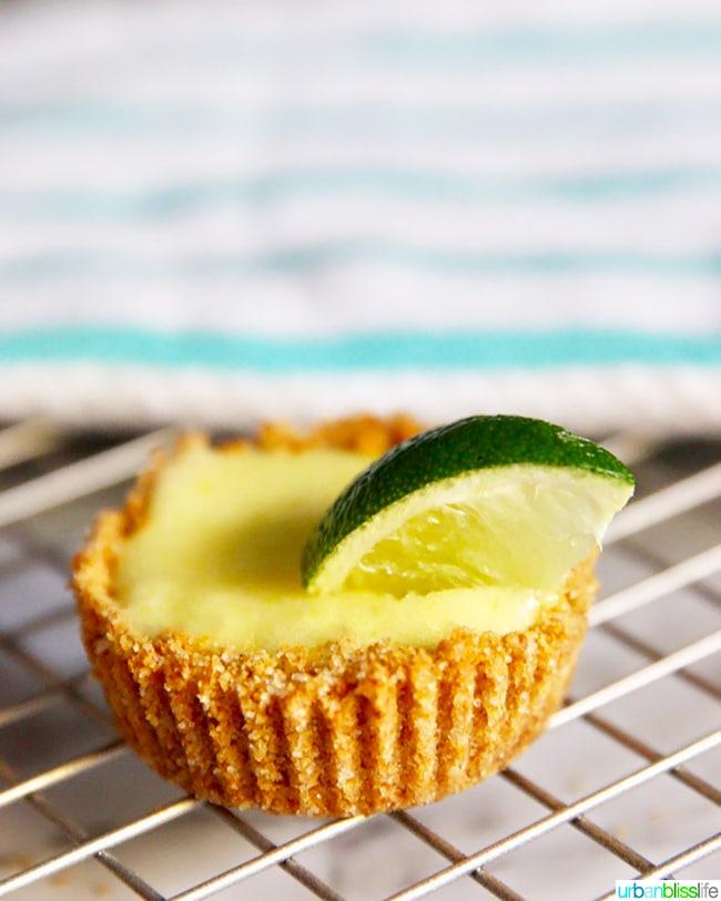 Mini Lime Tarts