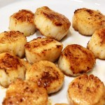 pan seared scallops resting for Seared scallops pasta