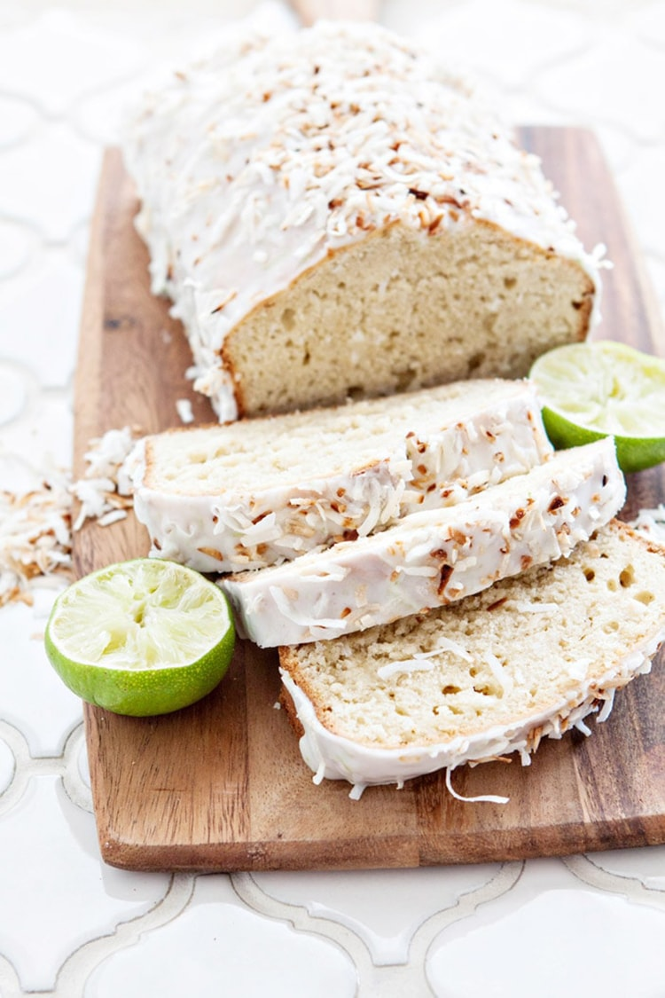 Coconut Lime Bread Make-Ahead Brunch Recipe