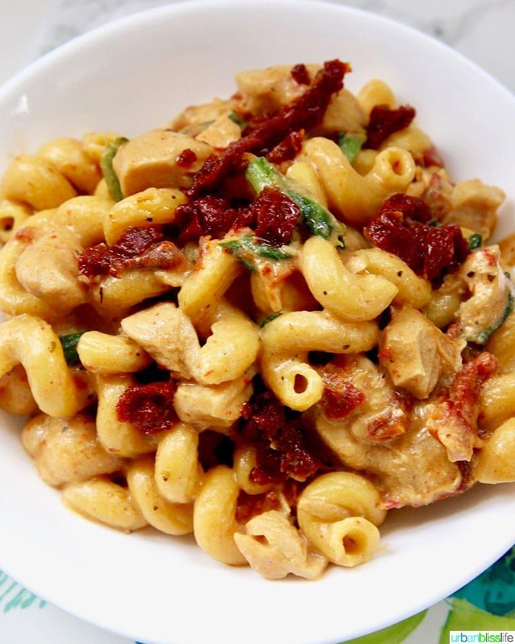 Dairy-Free Instant Pot Tuscan Chicken Pasta